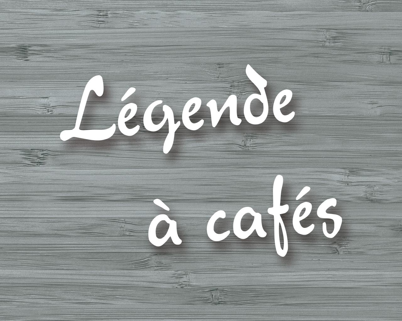 légende des nouveaux cafés armorique